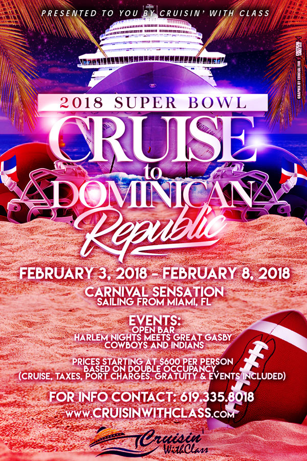 2018 Superbowl Cruise Dominican Republic