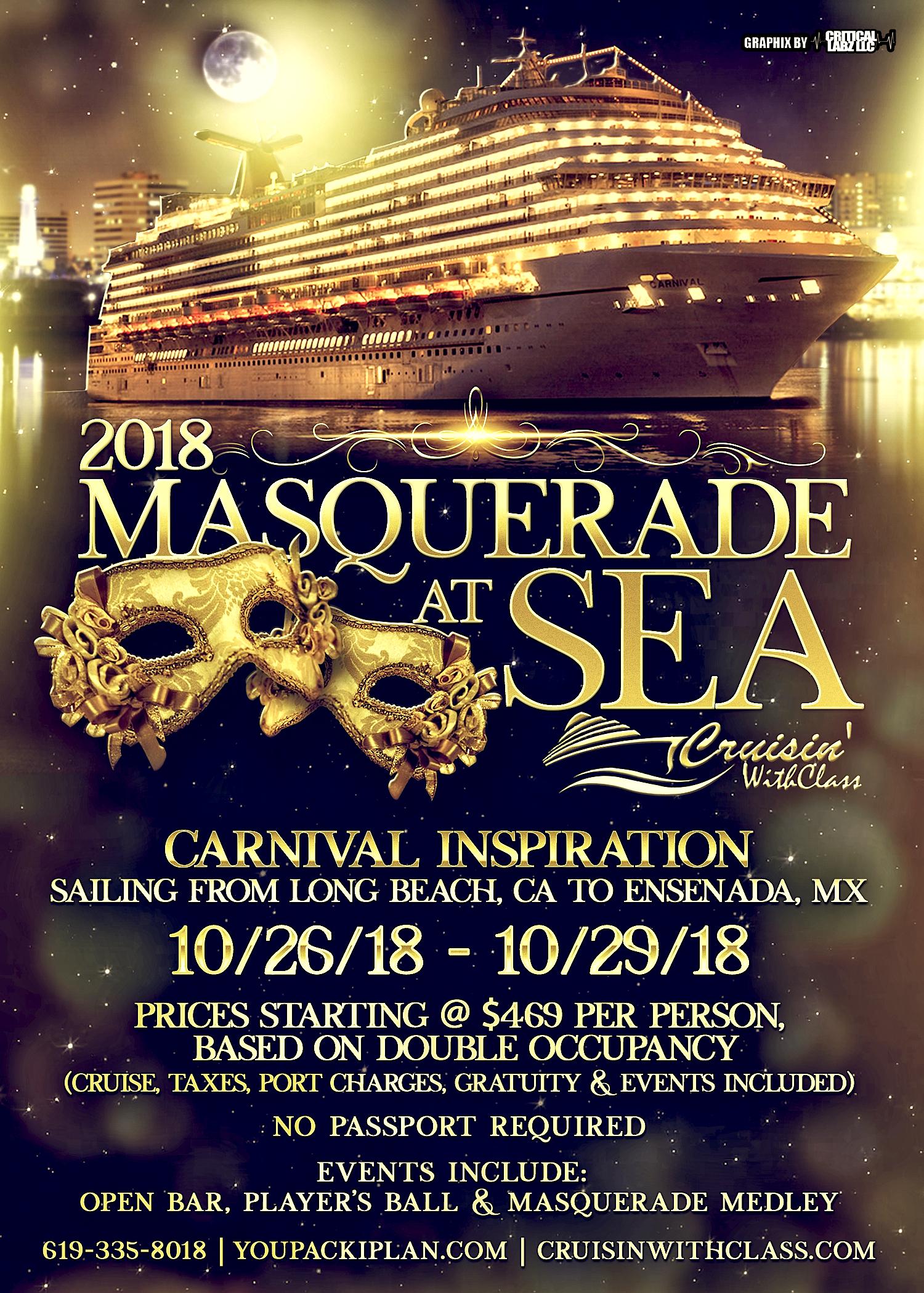 2018 Masquerade at Sea